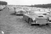 Aston Martin DB4 and our Jaguar