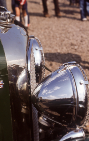 Bentley radiator & headlamps