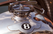Bentley radiator cap & badge