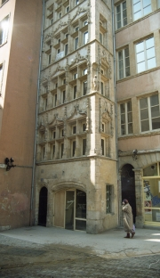 Ornate old windows