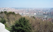 View over Lyon from the Basilica
