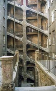 Series of stairways