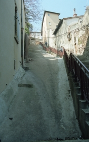 Very steep street