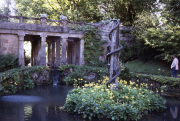 THE SNAKE FOUNTAIN, THE INDIAN GARDEN, SEZINCOTE