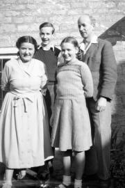 Katie, John, Sue and Bernard