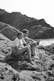 Sue and John in Cornwall