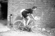 John on his bike