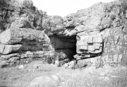 Rocks and cave