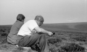 Dad and Sue on the moors