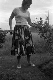 Barbara in the garden