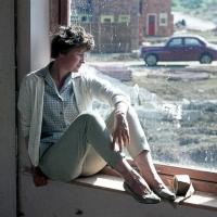 Greta on the windowsill