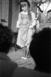 Greta onstage