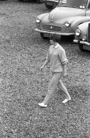 Greta walking