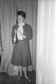 Greta with jug