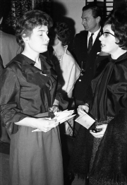 Greta with Sheila Matthews