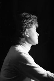 Greta, studio portrait