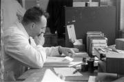 Fred at desk