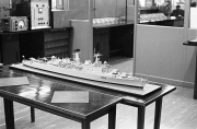 Model of HMS Devonshire (D02)