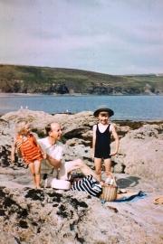 Sue, Bernard and John