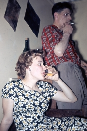 Dina Evans and Wal