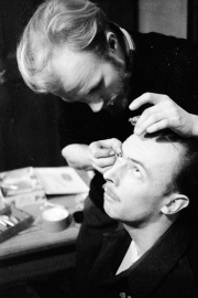 Saunders being made up