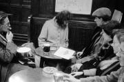 Dave, Helen, Wal etc in Savoy Tavern