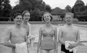 Cheltenham Lido - Bathing group