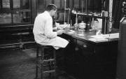 Eric in lab
