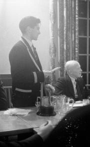 Morphy Day Dinner - Harding speaking