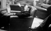 John Cornwell in lounge