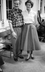 Tony Goodings & girlfriend