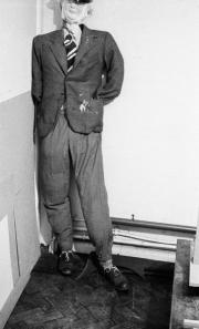 Effigy of Hugh Huckin (Union President 1955-56)
