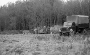 Lorry at camp