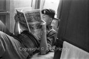 Ron reading comic