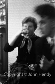 Mary drinking
