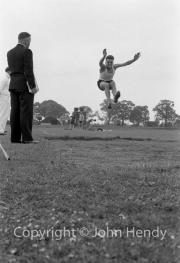 Brown, long jumping