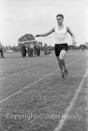 Brown winning mile