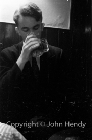 Jerry Lawrence drinking
