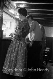 Mary at the bar