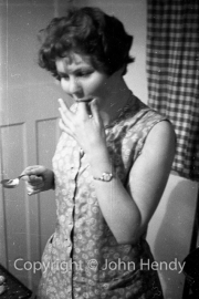 Mary Watson and cream