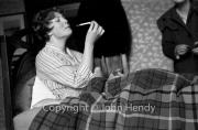 Mary smoking