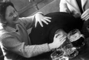 Min (Rosemary Harvey) nobbling Jerry Lawrence