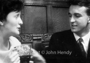 Min (Rosemary Harvey) and Jerry Lawrence