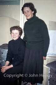 Mary Watson and Rosemary Harvey