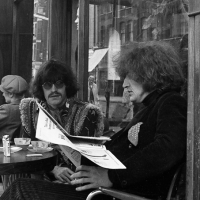 Martin Sharpe and Richard Neville of Oz magazine.
