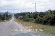 Road towards Alencon