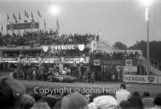Stirling Moss retires - #4 Aston Martin DBR1/300 (Stirling Moss and Jack Fairman)
