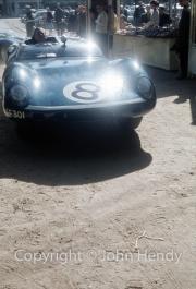 Ecurie Ecosse Tojeiro Jaguar 3.0 S6 (Ron Flockhart and Jack Lawrence)