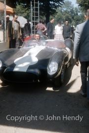 Ferrari in Scrutineering