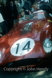 Scrutineering - #14 Ferrari 250 Testa Rossa (Phil Hill and Olivier Gendebien)